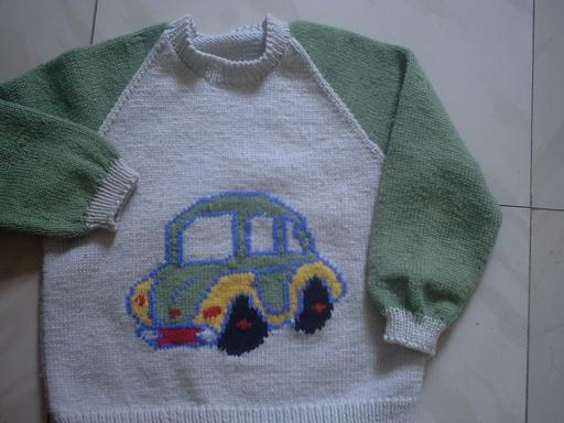 这是以前给侄子织的!
