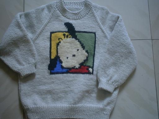这是以前给儿子织的!