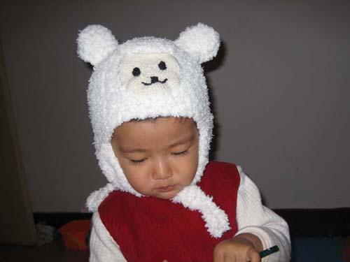 小羊羔的帽子