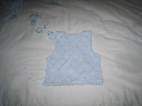 给未出生的小侄子织的毛衣