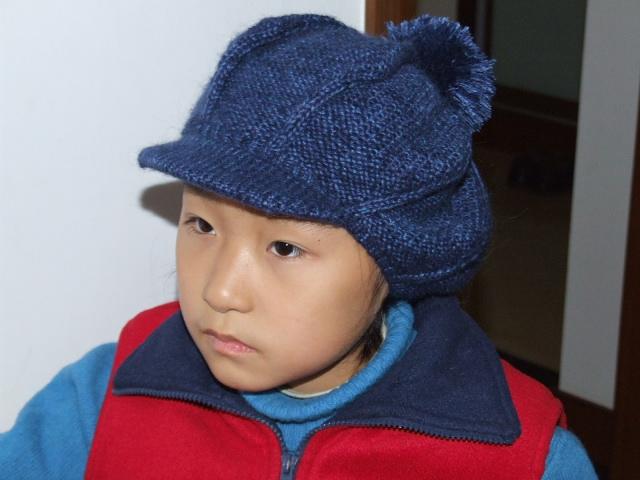 这个帽子也是刚完工的,如果有人要的话,可以给我消息