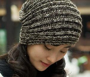 这个帽子是网上发的,我可以代为编织