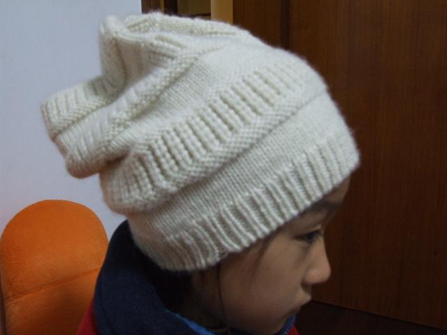 这个帽子戴着特别暖和