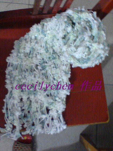 这个蝴蝶围巾是我的参赛作品哦!