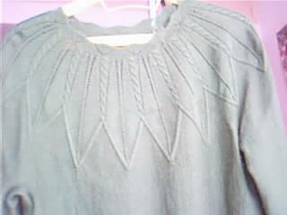 去年织的毛衣,很喜欢的
