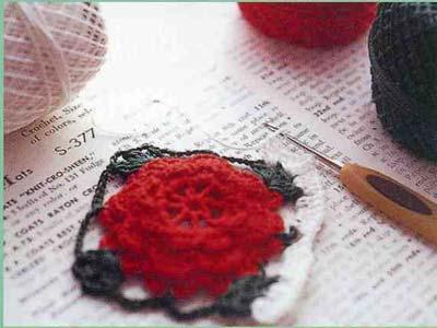 红色和黄色蔷薇花图案 2.jpg