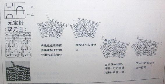 围巾男式左双元宝针.jpg