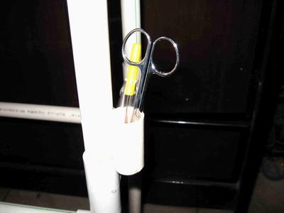 放剪刀和拆线器