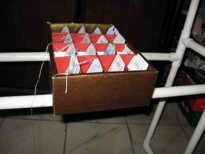 我自制的线盒和线板
