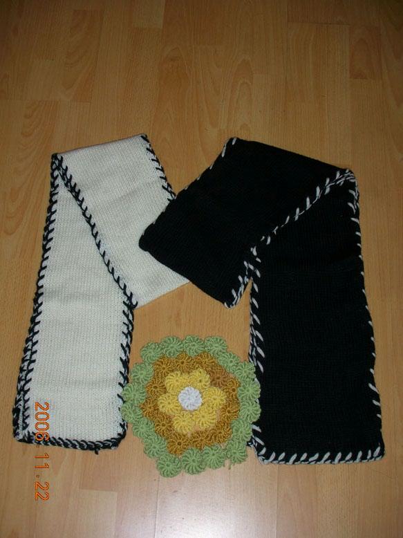 情侣围巾,我和BF的~