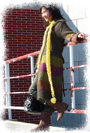 毛巾线超软长围巾