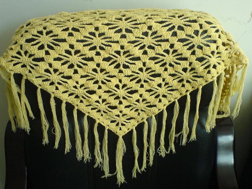 12月20日新钩三角巾(现在正流行噢)