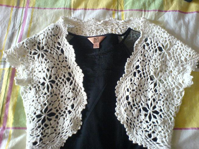 夏天钩的韩式小衫(米米家的圆棉线)