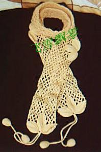 叶子葡萄围巾(小葡萄还没钩完,先传上来看看)