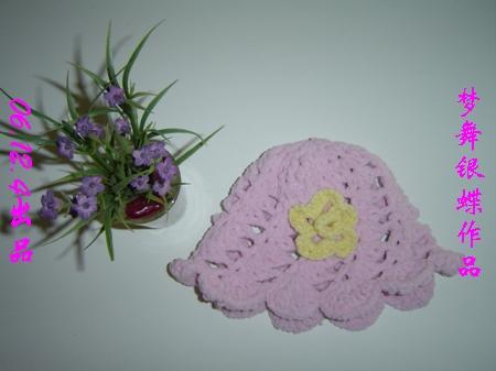放平时的样子,用很普通的小花做装饰