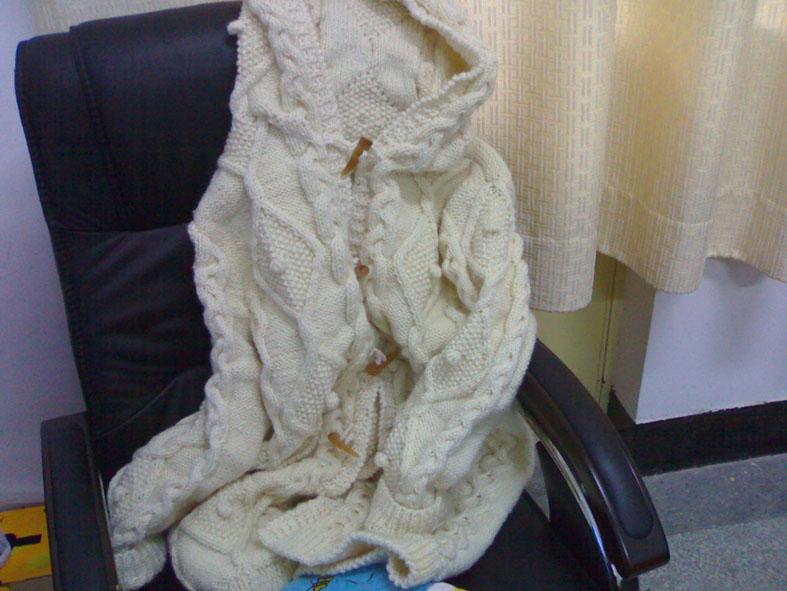 我仿制的毛衣图片1