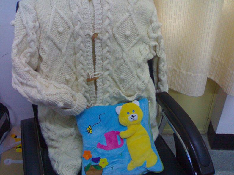 我仿制的毛衣图片2