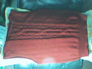 女式红毛衣
