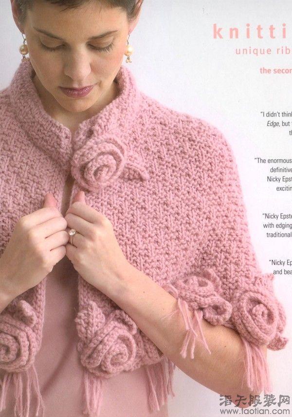我也有点编织基础,可没弄明白,花朵怎么弄的?身体部分是怎么织的?