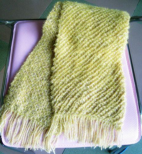 黄色这条织的是渔网滴~