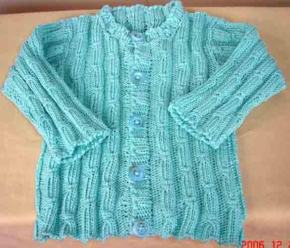 这个是棉线,我们这儿的小商品市场买的。送给老公同事刚出生的女儿!