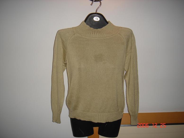 玫瑰狐家的绢丝羊绒 整件衣用了不到五两线