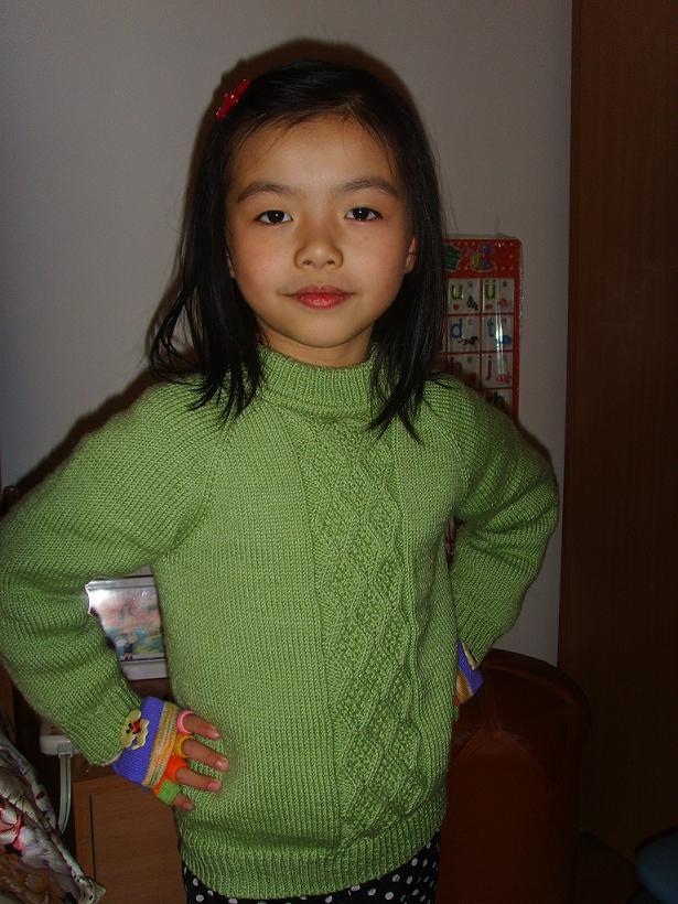 女儿毛衣真人秀
