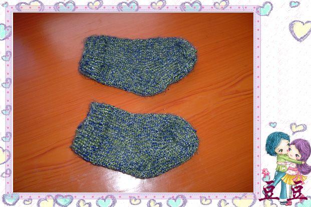 第一次织袜子