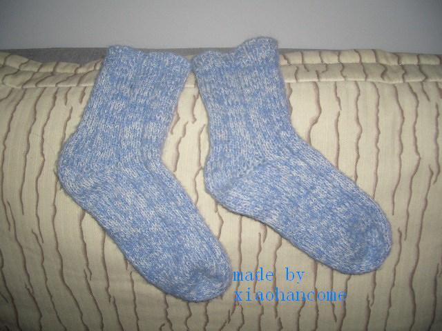 刚学的袜子