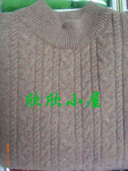 本店150元/斤,30%含量的手编山羊绒机织而成,一般男性用量9-10两.
