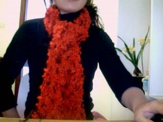第一次织围巾,也是第一次传图片