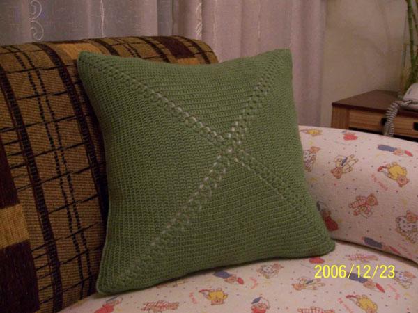 第一次手工-自制的抱枕