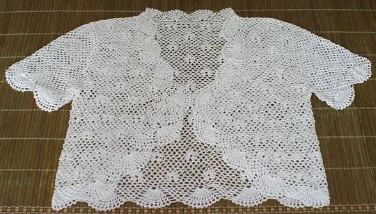 天丝线织的小衣服