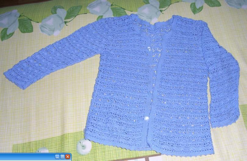 米米家的宝蓝色钩编棉线