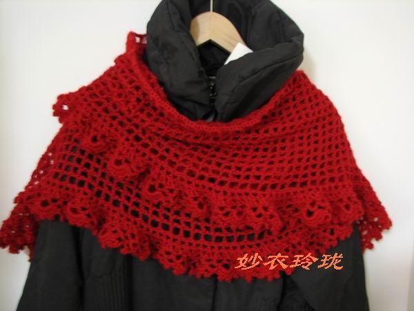 大红围巾迎新春