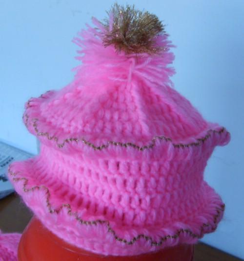 美美小花帽