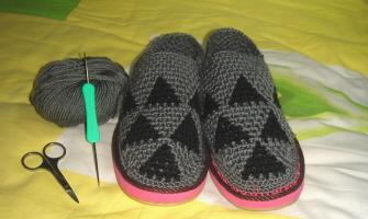 给婆婆的拖鞋