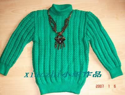 大气稳重的毛衣,也是常穿的一款