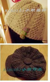 今年新织的帽子