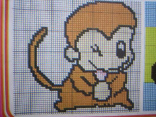 小猴子的图解,因为书很小拍得不是很清楚,希望大家能有用.