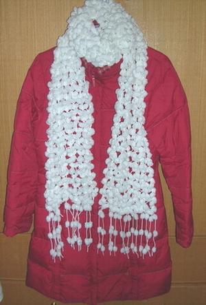 珍珠围巾一条