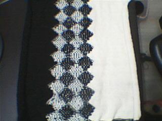 应一些姐妹们的要求再发一次配色的织法吧!