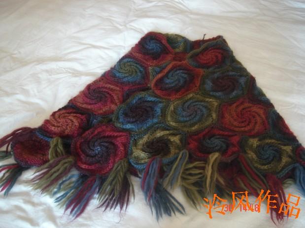 这是伊娥家买的李氏冰岛毛13号织的