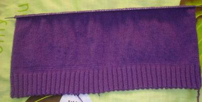 编织过程,1后片