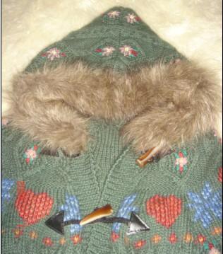 利用旧衣服帽子的毛毛
