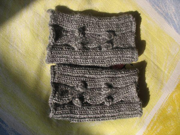 我织的手套