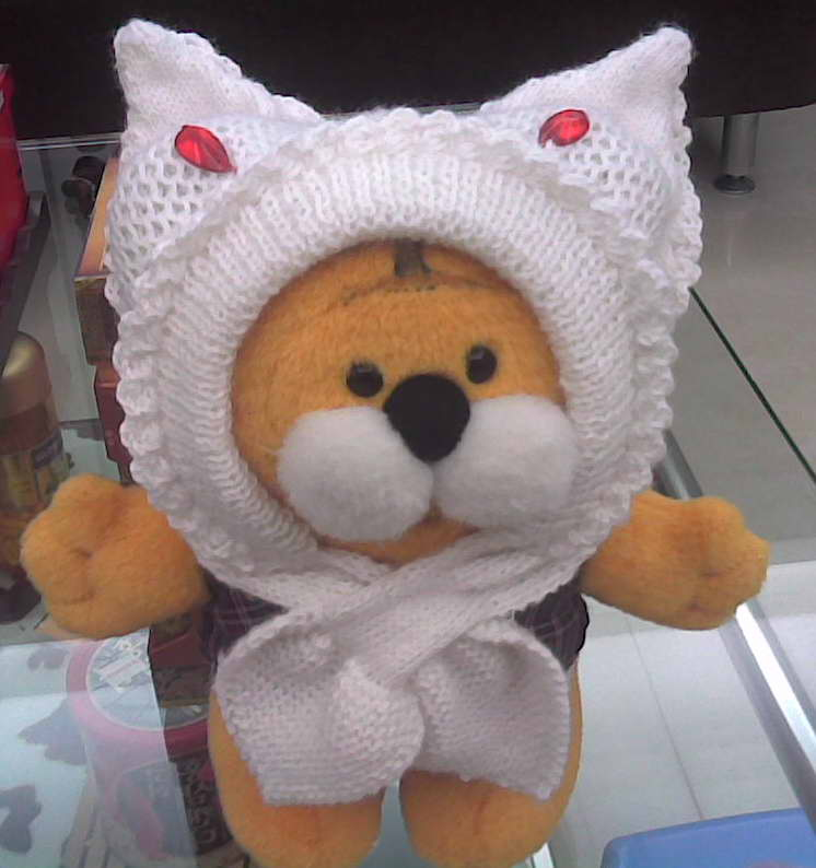 双层 围巾 织法       stfish 版块:[儿童毛衣(棒针)]朋友请教小兔子