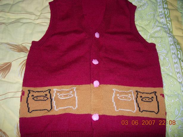 衣可爱马甲编织