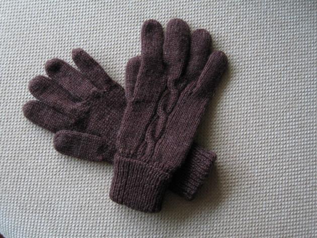 给自己的手套