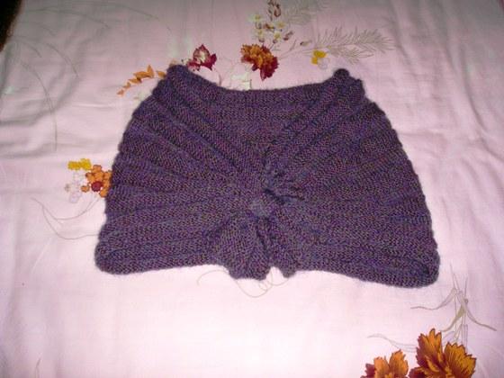 去年织的小披肩